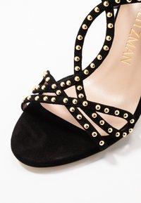 Stuart Weitzman - LEYA BEAD - High heeled sandals - black/gold - 2
