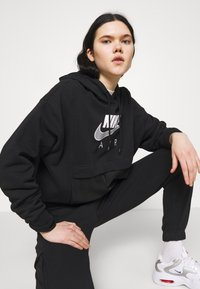 Nike Sportswear - AIR  - Hoodie - black/white - 3
