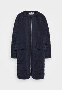 Henrik Vibskov - THINK ABOUT LONG COAT - Klasický kabát - navy blue - 3