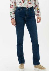 BRAX - STYLE CAROLA - Slim fit jeans - used regular blue - 0