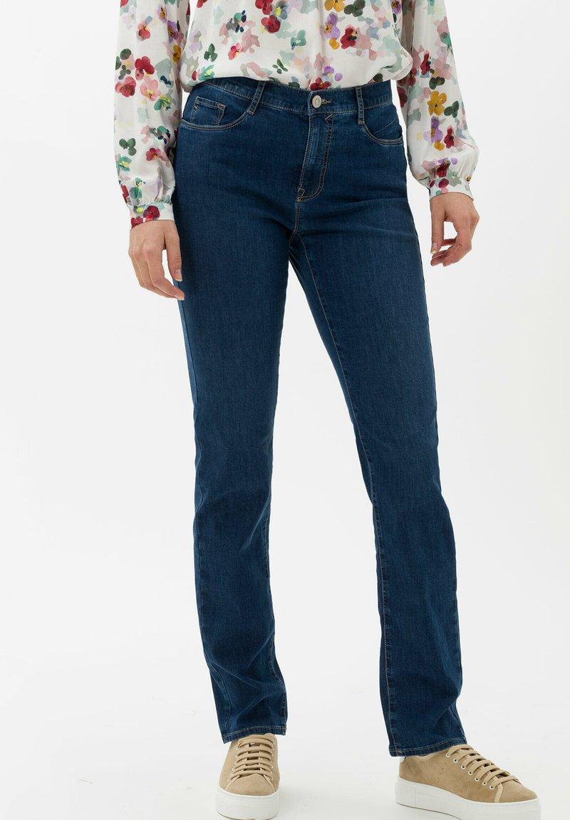 BRAX - STYLE CAROLA - Slim fit jeans - used regular blue