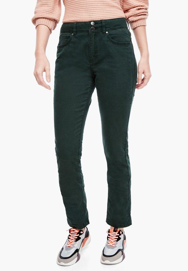 SLIM FIT - Slim fit jeans - dark green
