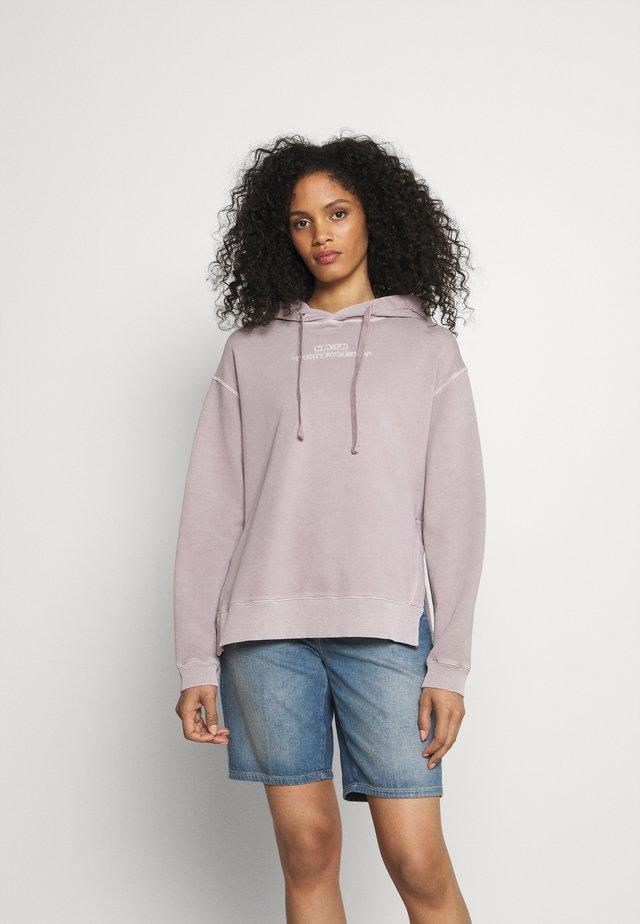 Sweater - dark mauve