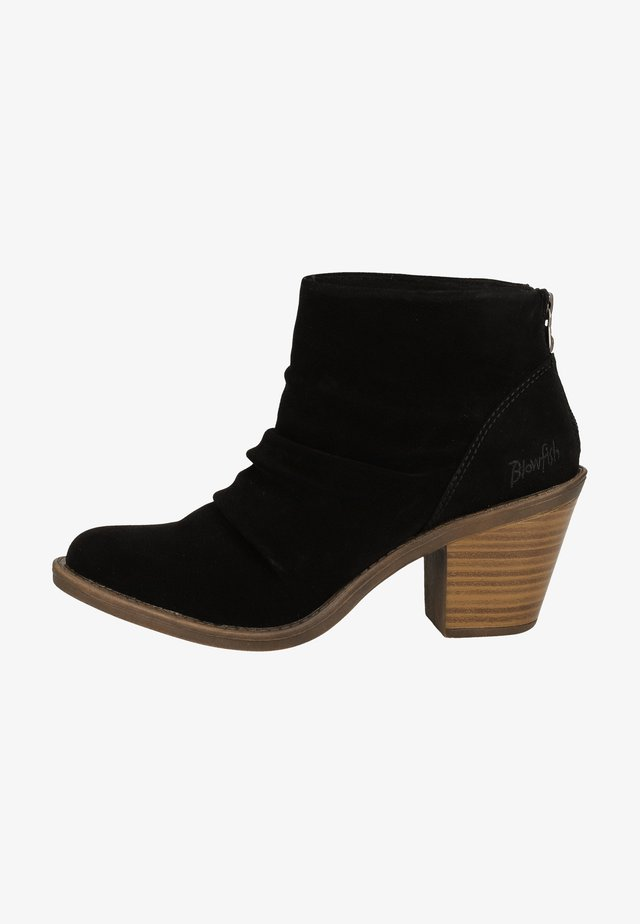Ankle boot - black soft nubuck