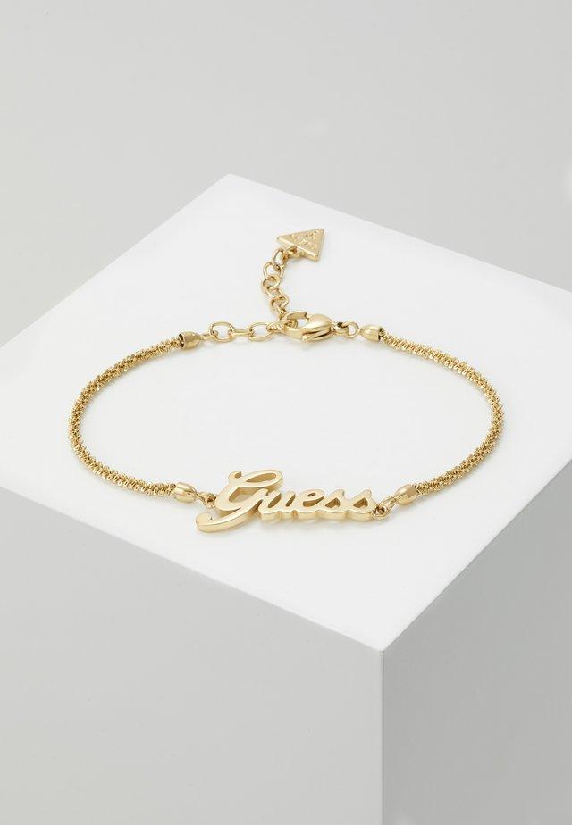 LOGO POWER - Armband - gold-coloured