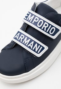 Emporio Armani - Trainers - dark blue - 5