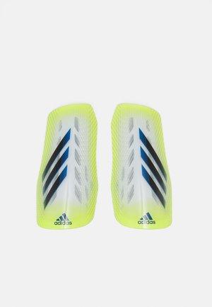 Shin pads - shock yellow/black/royal blue