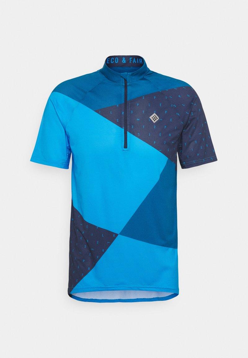 Triple2 - MEN - T-shirt print - mykonos blue