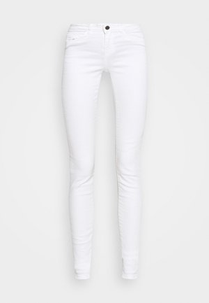NMLUCY  - Jeansy Skinny Fit - bright white