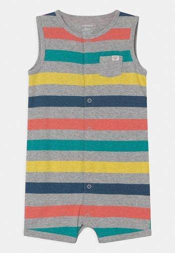 MULTISTRIPE - Jumpsuit - multi-coloured/mottled grey