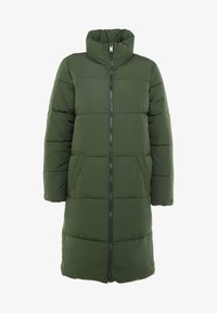 JDY - Classic coat - rifle green - 4
