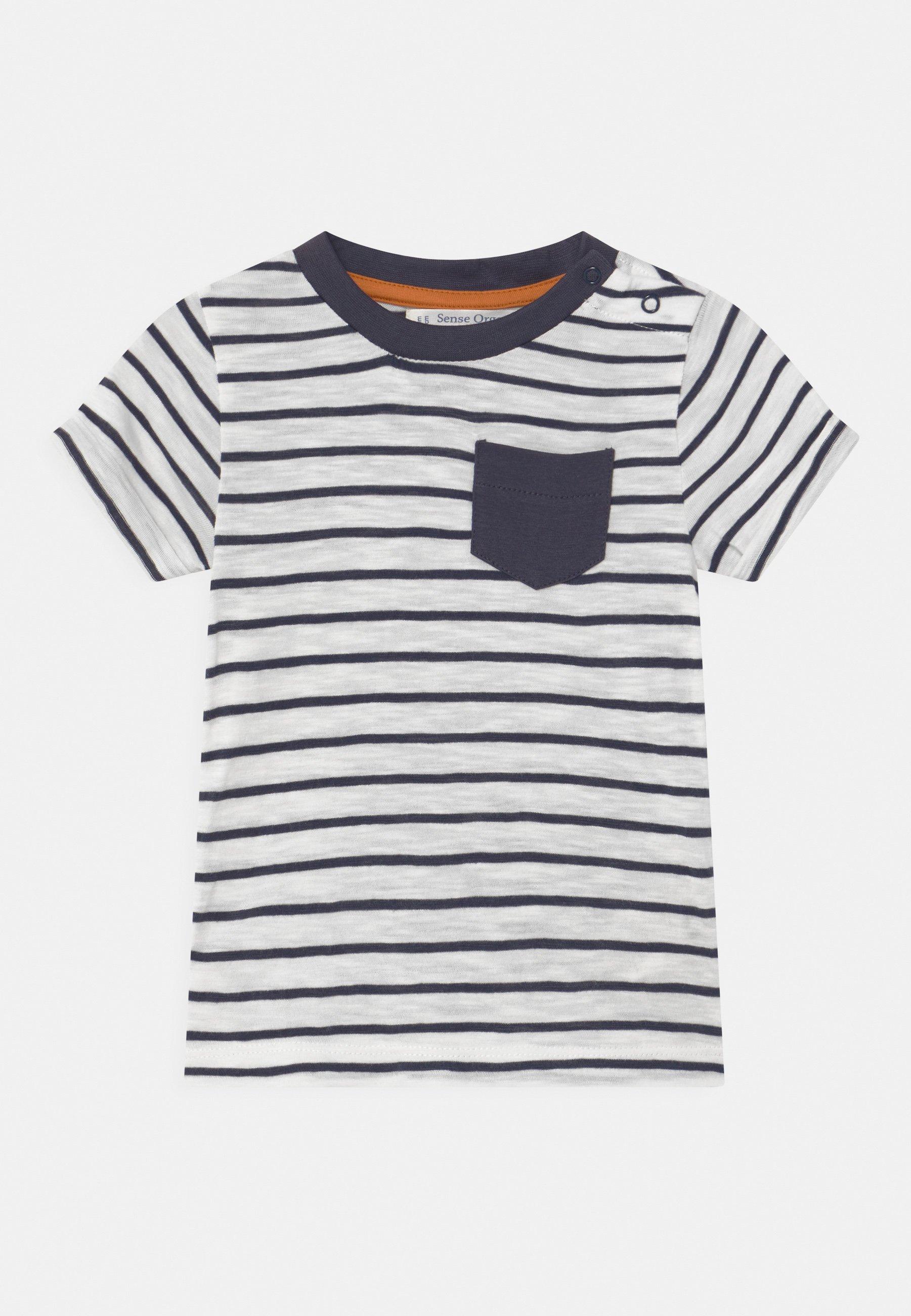 Kids ODO BABY UNISEX - Print T-shirt - navy