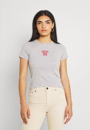 COLORADO SPRINGS BABY TEE - T-shirts med print - grey