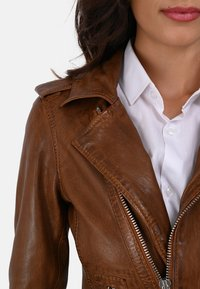 Oakwood - MANGA - Leather jacket - brown - 3