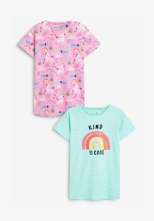 2 PACK - Noční košile - multi- coloured