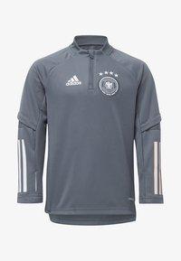 adidas Performance - DEUTSCHLAND DFB TRAINING SHIRT - National team wear - grey - 5