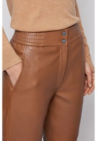 BOSS - SIWETTA - Trousers - light brown - 3