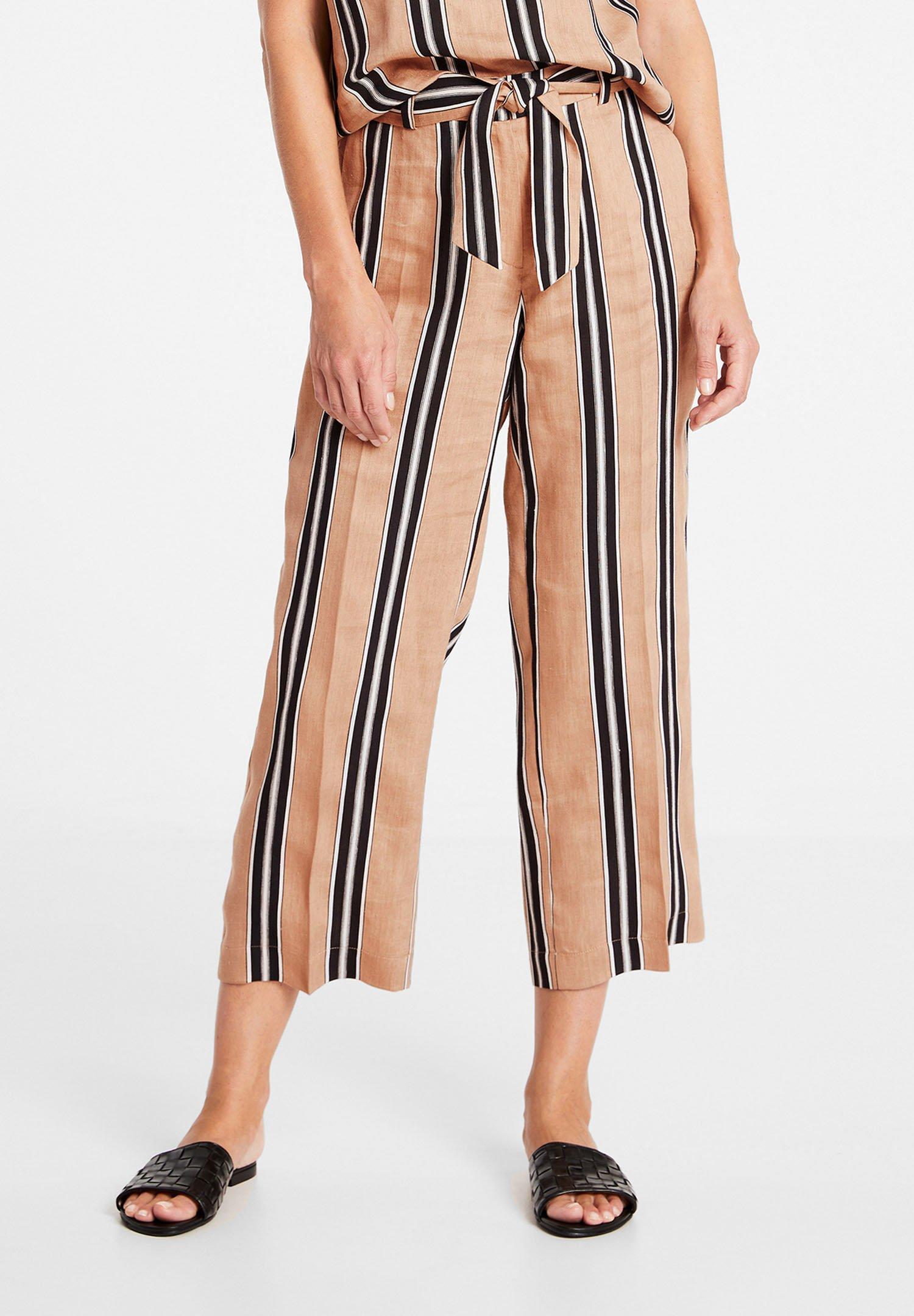 Donna MIT LÄNGSSTREIFEN - Pantaloni