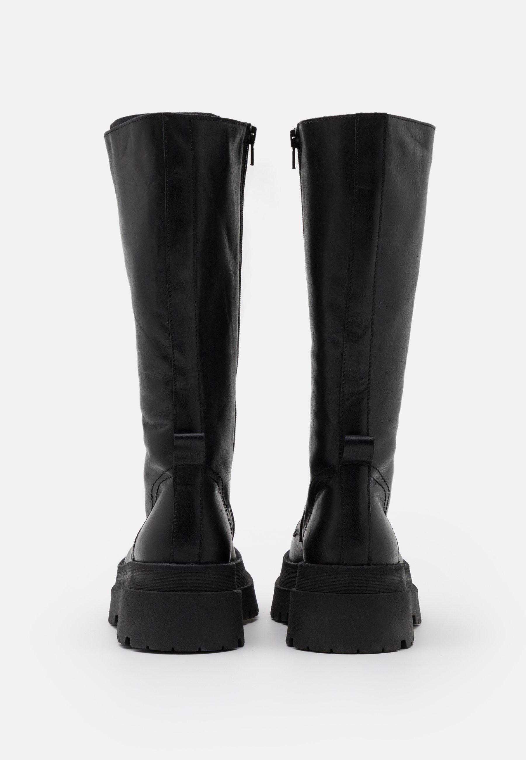 Zign Platåstøvler - Black/svart