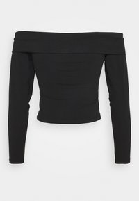 ONLY Petite - ONYSELINA OFFSHOULDER - Long sleeved top - black - 1