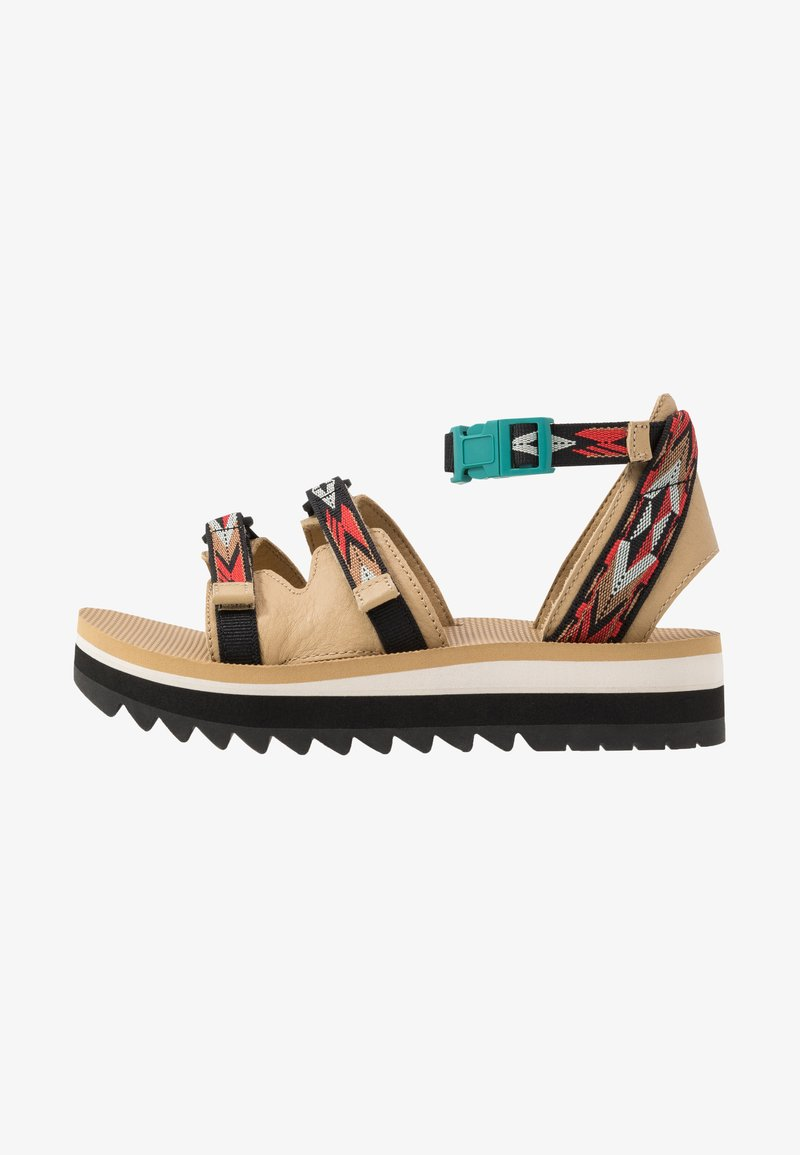 Teva - MIDFORM CERES WOMENS - Walking sandals - double diamond/firey red