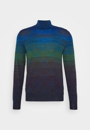 LONG SLEEVE CREW NECK - Jersey de punto - dark blue