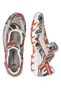 Allrounder - NIRO - Ankle strap ballet pumps - orange - 2