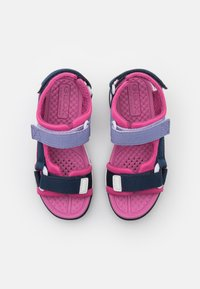 Geox - BOREALIS GIRL - Walking sandals - navy/fuchsia - 3