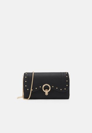XL DOUBLE ZIP AROUND - Wallet - nero