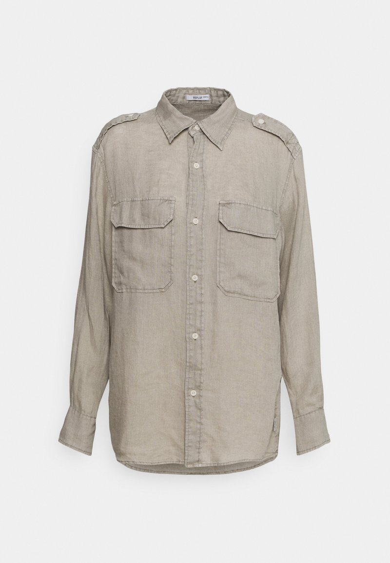 Replay - Button-down blouse - sand