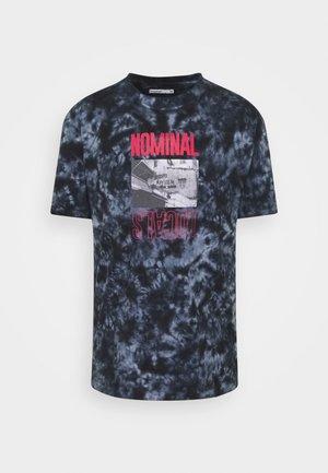 LOCALS TEE - T-shirt med print - blue