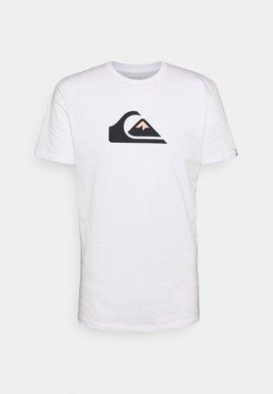COMP LOGO - Print T-shirt - white