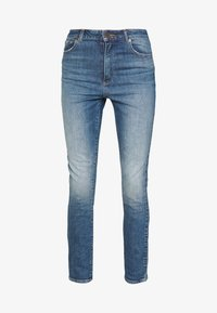 Abrand Jeans - HIGH ANKLE BASHER - Jeans Skinny Fit - stone blue denim - 4
