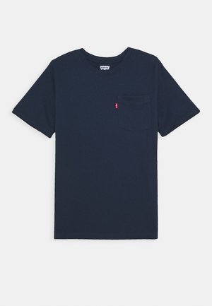 KNIT TOP - T-Shirt basic - dress blues