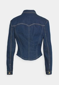 Versace Jeans Couture - LADY JACKET - Kurtka jeansowa - indigo - 8