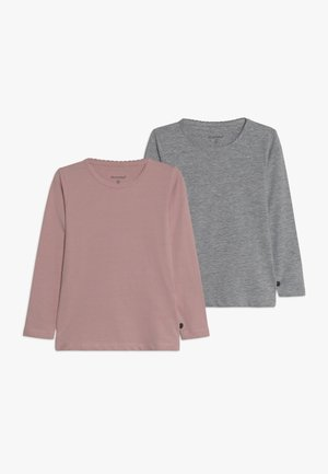 2 PACK - Long sleeved top - blusher