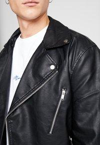 River Island - Faux leather jacket - black - 6