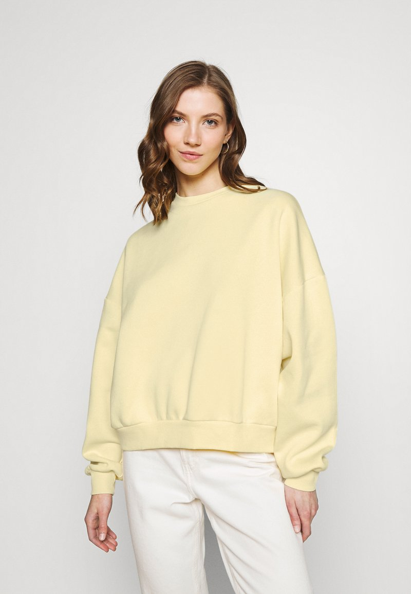 Nly by Nelly - PERFECT CHUNKY - Sweatshirt - yellow