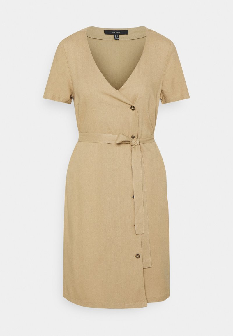 Vero Moda - Shirt dress - beige