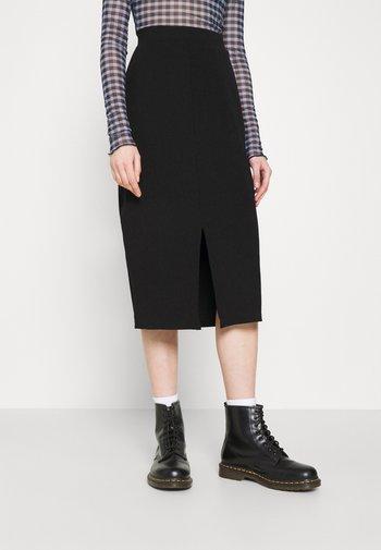 DOLLY SKIRT - Pencil skirt - black