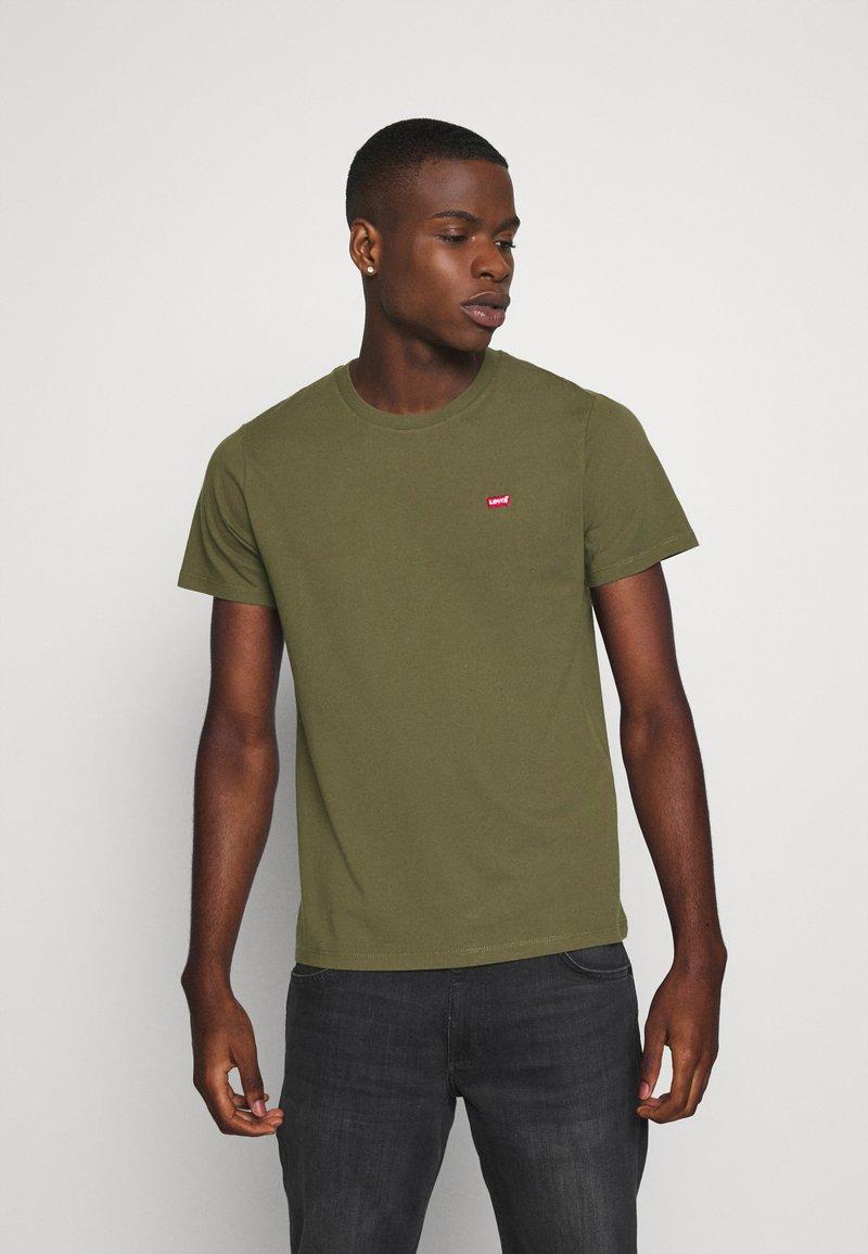 Levi's® - ORIGINAL TEE - T-shirts basic - olive night