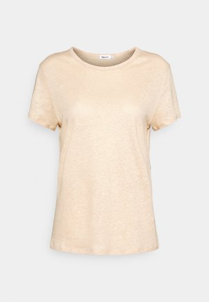 HAZEL TEE - Basic T-shirt - natural beige
