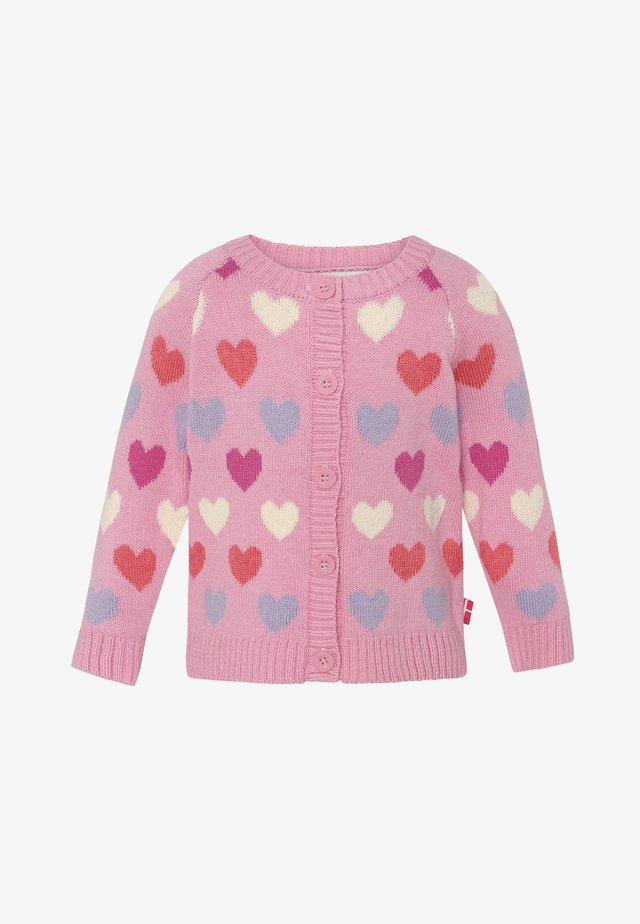 MAYA - Vest - pink heart