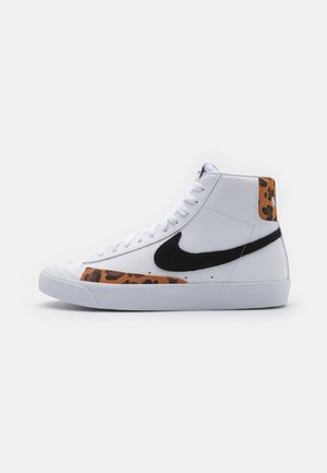 BLAZER MID UNISEX - Sneakersy wysokie - white/black