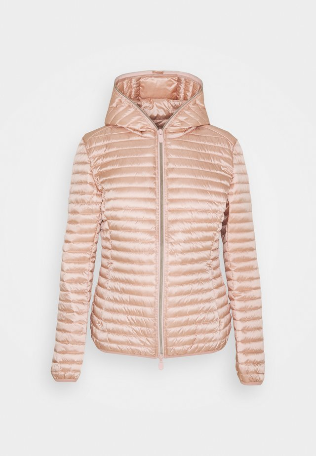 IRIS ALEXIS HOODED JACKET - Jas - powder pink