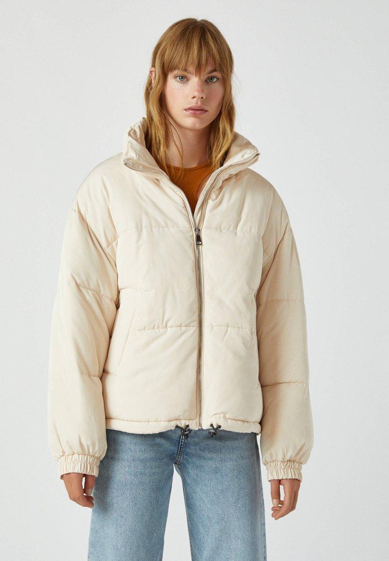 PULL&BEAR - Winter jacket - beige