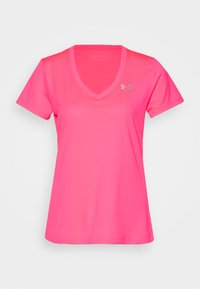 Under Armour - TECH - Basic T-shirt - cerise - 3