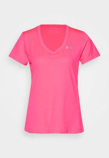 TECH SOLID - T-shirts - cerise