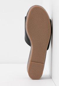 Rubi Shoes by Cotton On - PHOEBE FLATFORM - Heeled mules - black - 6