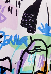 Bershka - MIT BUNTEM  - Button-down blouse - stone - 5